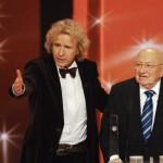 Marcel Reich-Ranicki und Thomas Gottschalk