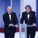 Paten Stefan Aust und Helmut Markwort (Beste Dokumentation und Beste Reportage)