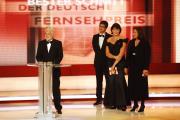 Die Stifter Markus Schächter (ZDF), Guido Bolten (Sat.1), Anke Schäferkordt (RTL), Monika Piel (ARD)