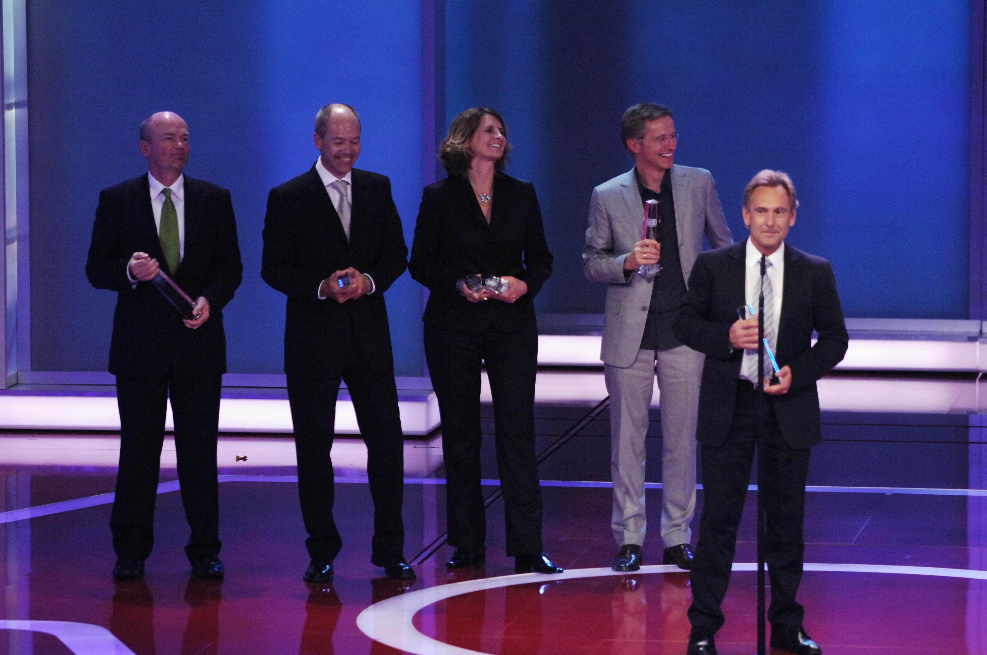 Beste Sportsendung: Dieter Gruschwitz und das Team vom ZDF für die Leichtathletik-WM