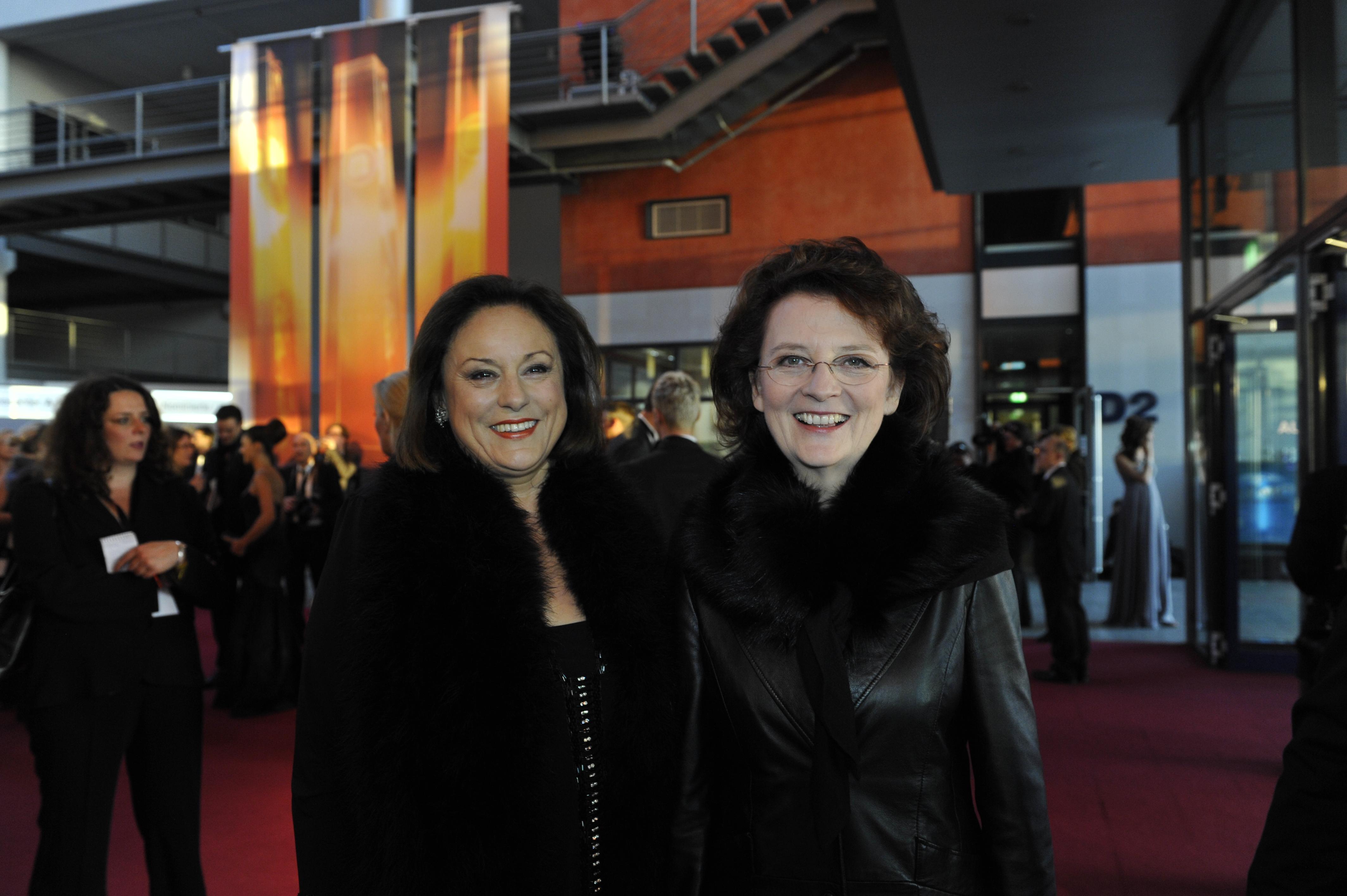 Monika Piel, Intendatin WDR und Dagmar Reim, Intentdantin RBB