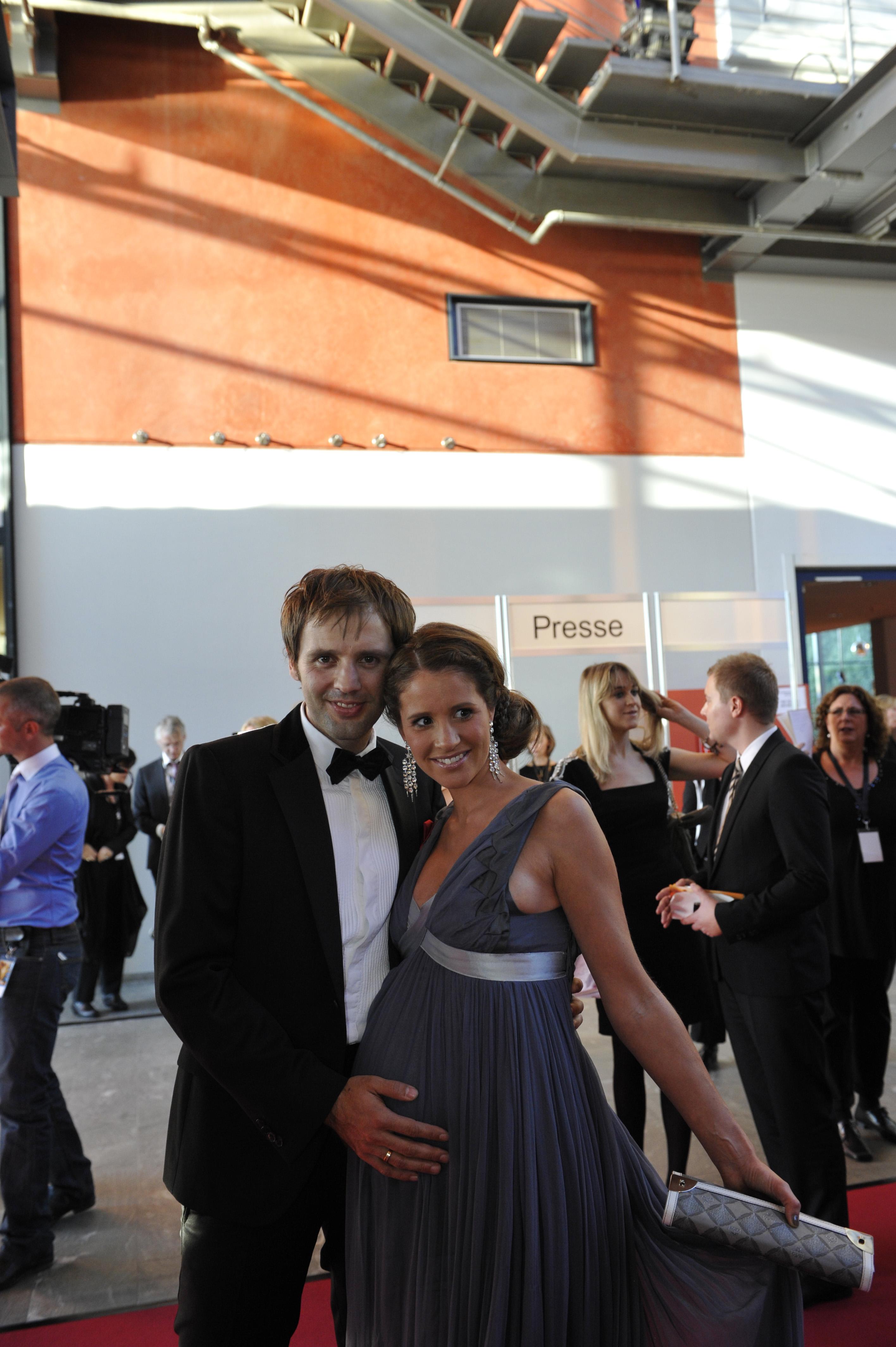 Mareile Höppner mit Ehemann