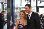 X Factor-Moderator Jochen Schropp und Schauspielerin Theresa Scholze
