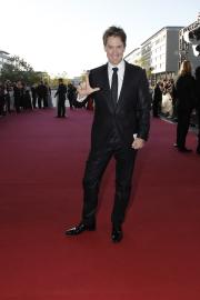 Roter Teppich beim Deutschen Fernsehpreis 2010: ARD-Morgenmagazin-Moderator Sven Lorig