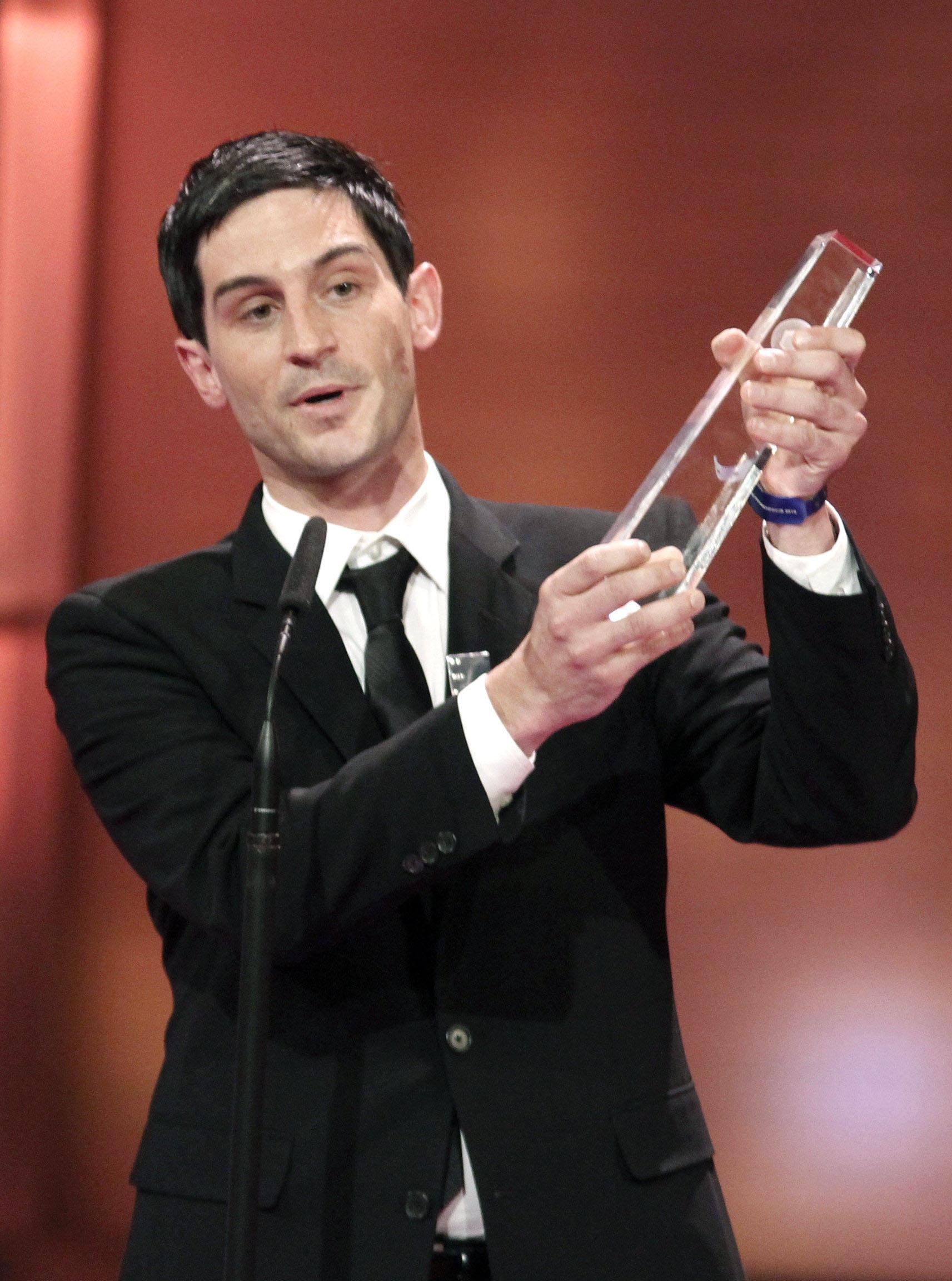 """""""Bester Schauspieler"""": Christoph Bach"""