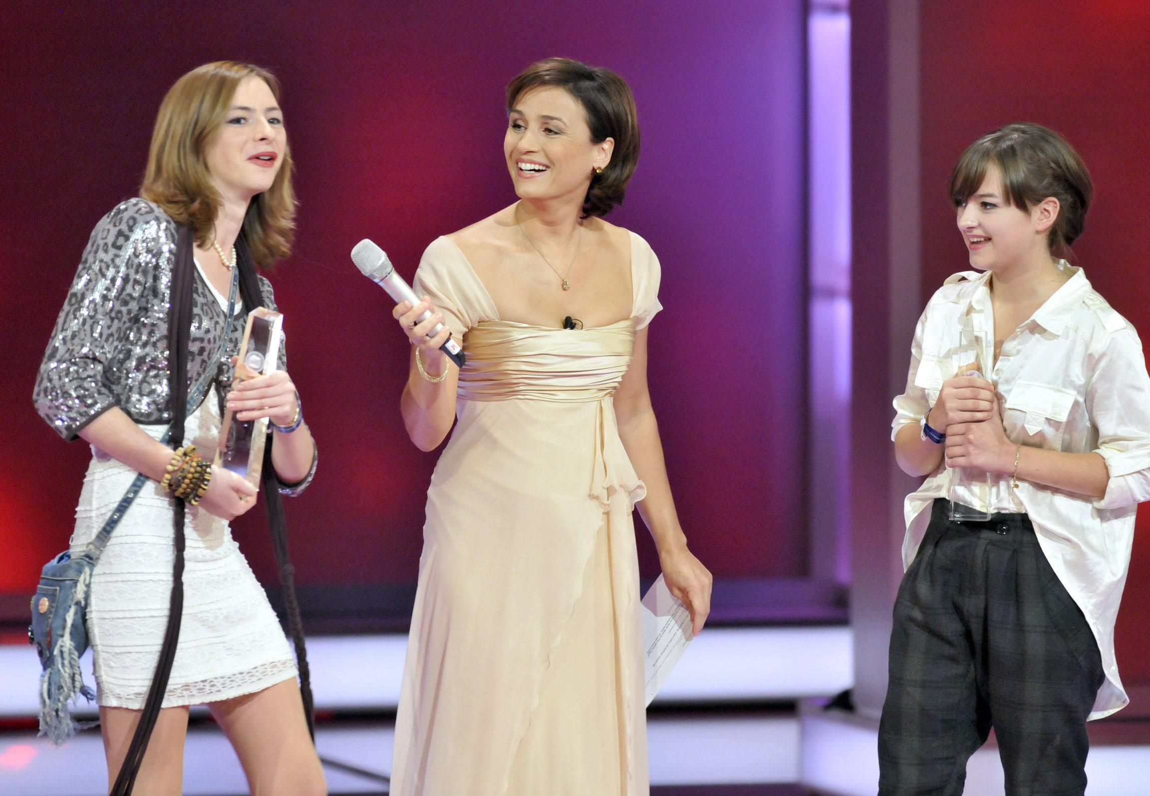 Förderpreis für die Jungschauspielerinnen Michelle Barthel und Carolyn Genzkow