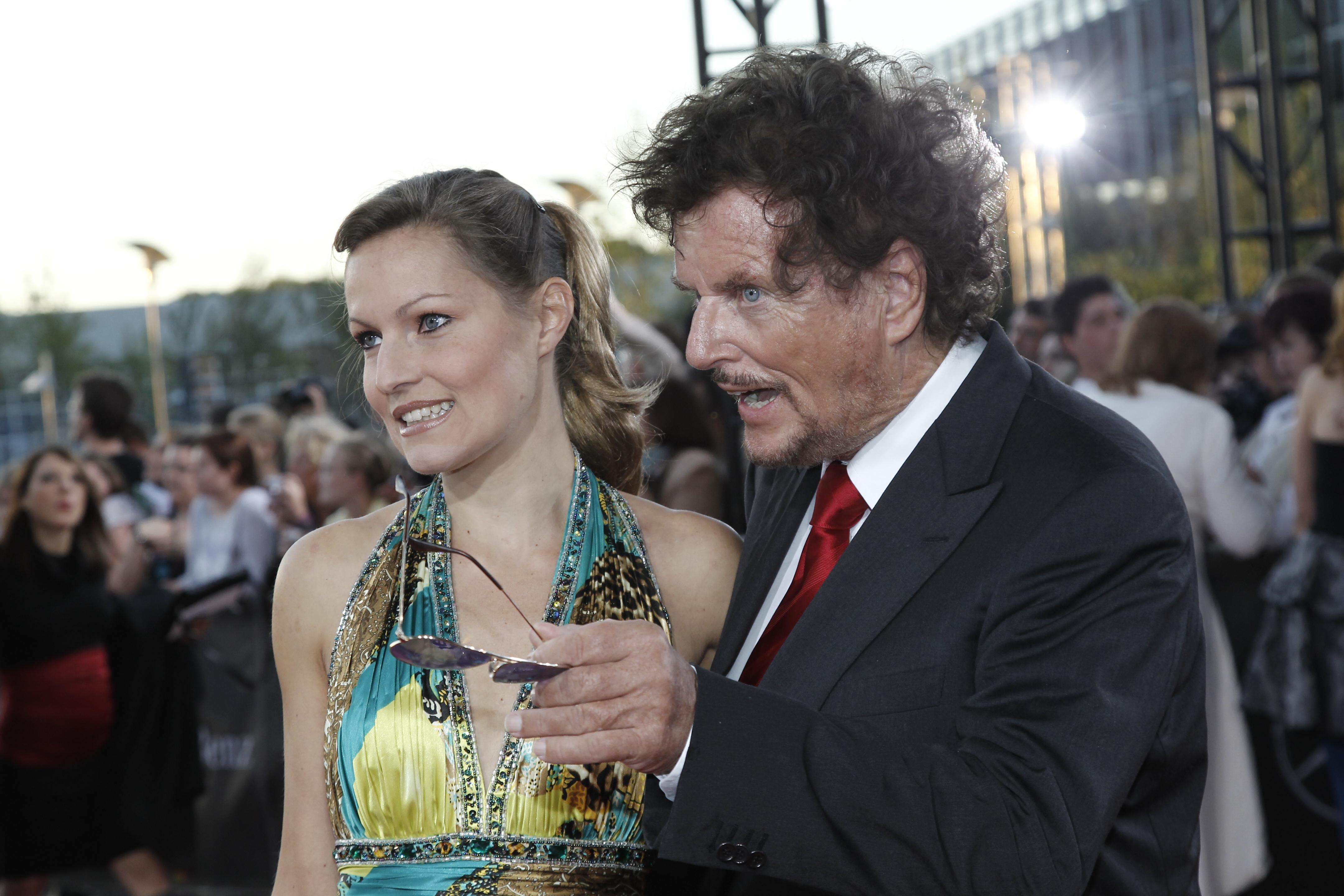 Regisseur Dr. Dieter Wedel und Dominique Voland
