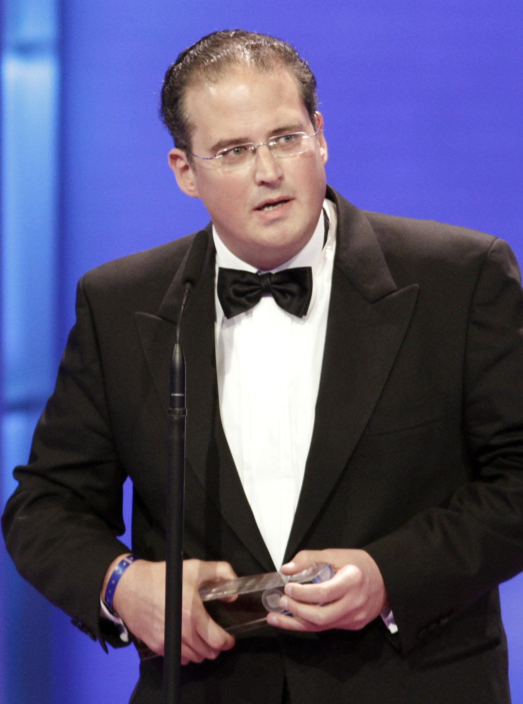 """Autor Klaus Stern, Gewinner der Kategorie """"Beste Dokumentation"""""""