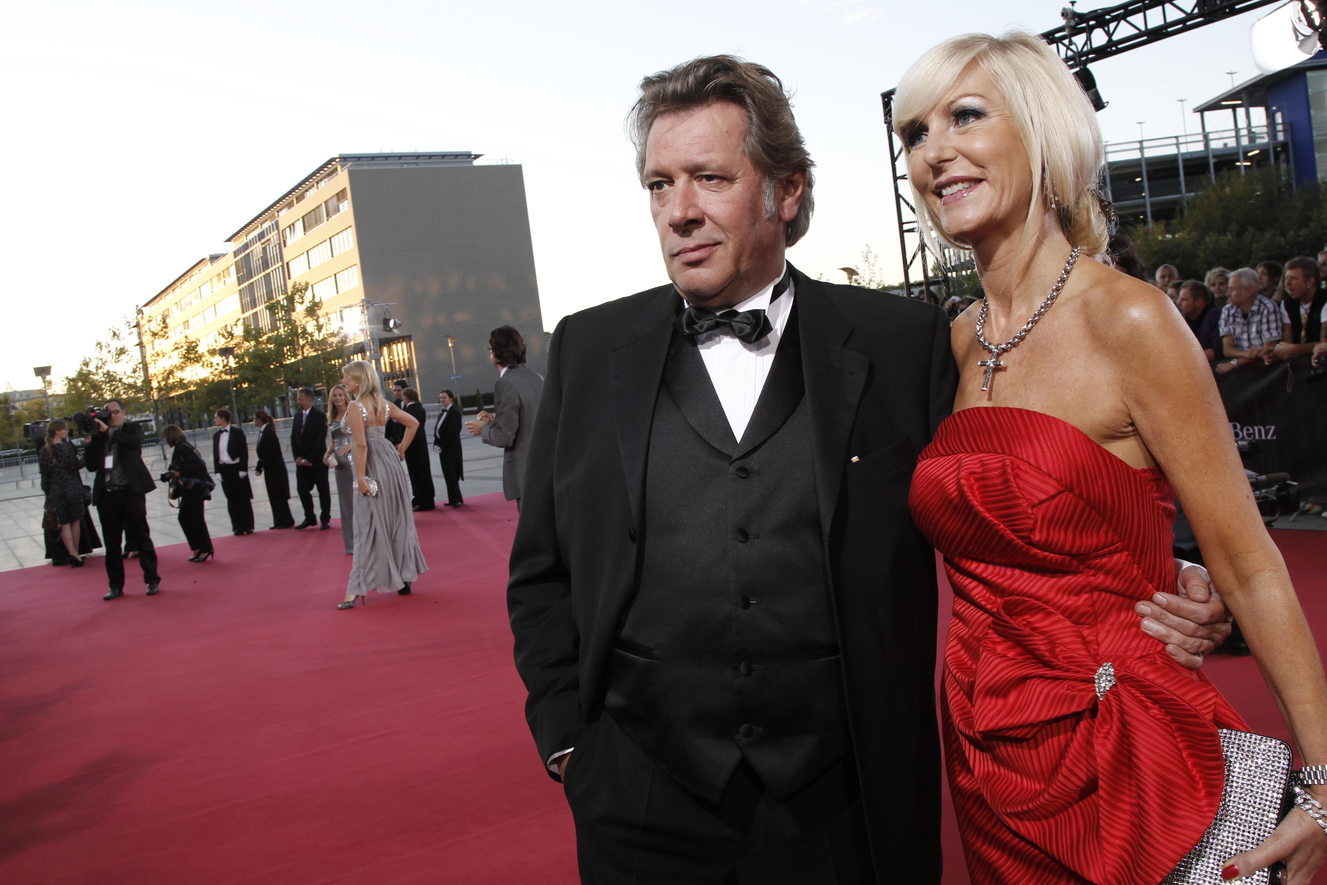 Schauspieler Jan Fedder mit Ehefrau Marion