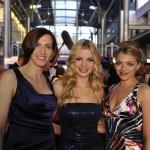 Die GZSZ-Stars Ulrike Frank, Susan Sideropoulos und Anne Menden