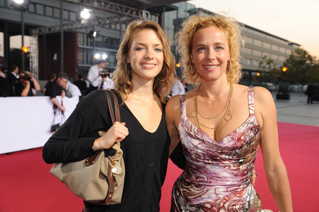 Katja Riemann mit ihrer Tochter Paula