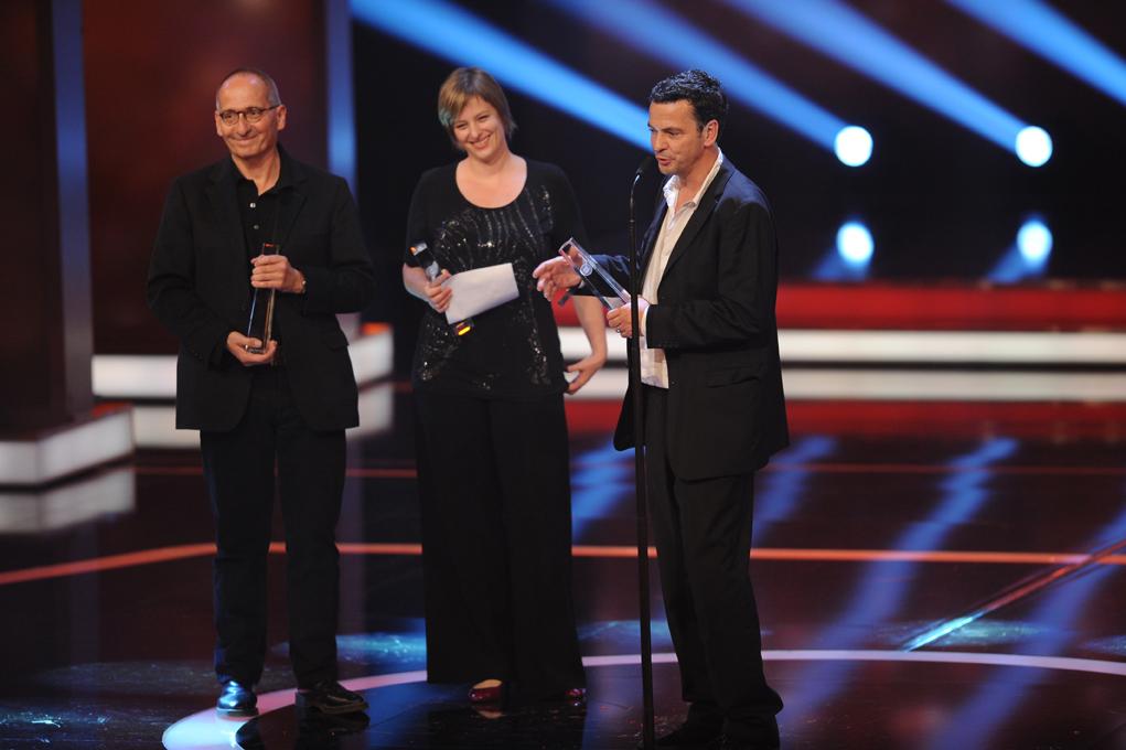 Die Preisträger für Besondere Leistung Fiktion: Dreileben