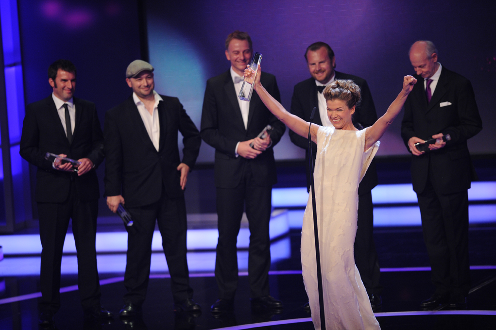 Anke Engelke gewinnt mit Ladykracher in der Kategorie Beste Comedy