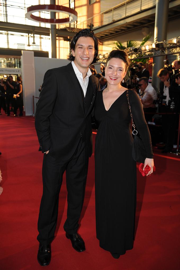 AWZ-Stars Tatjana Clasing und Francisco Medina