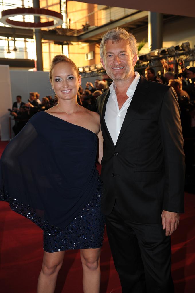 Schauspieler Dominic Raacke mit Janine Barth