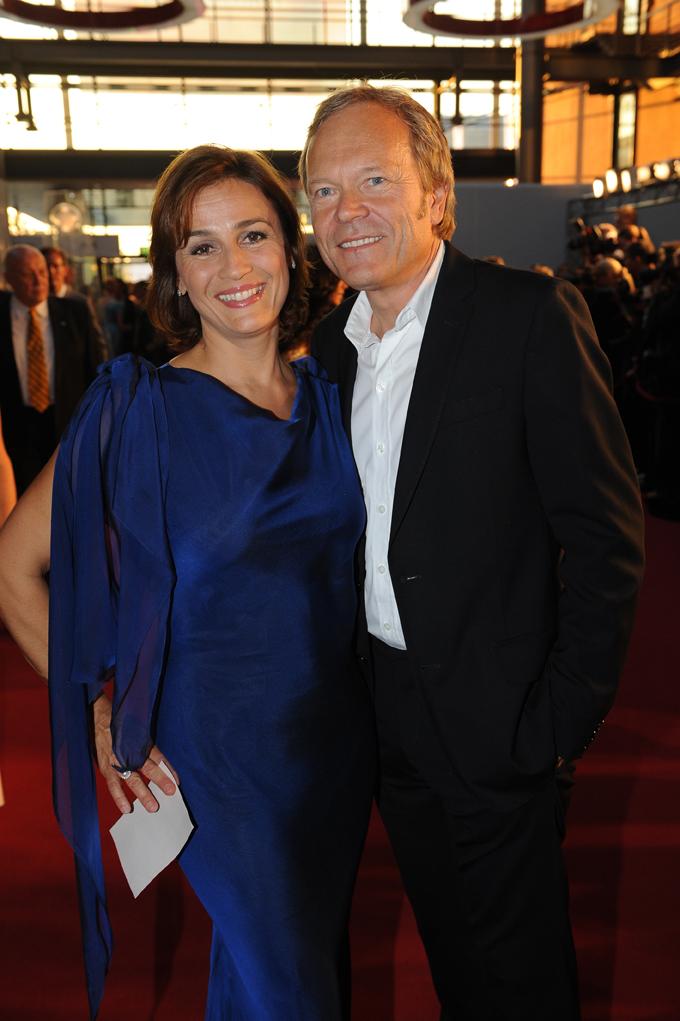 Sandra Maischberger und Jan Kerhart