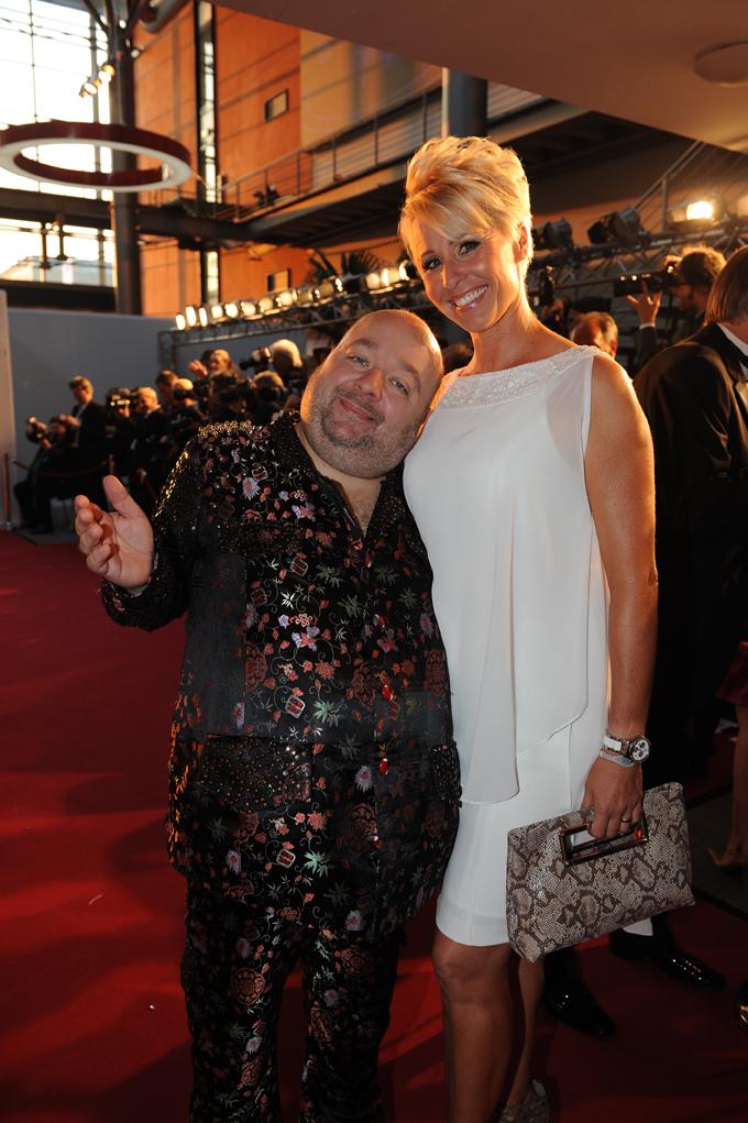 Die Dschungelmoderatoren Dirk Bach und Sonja Zietlow