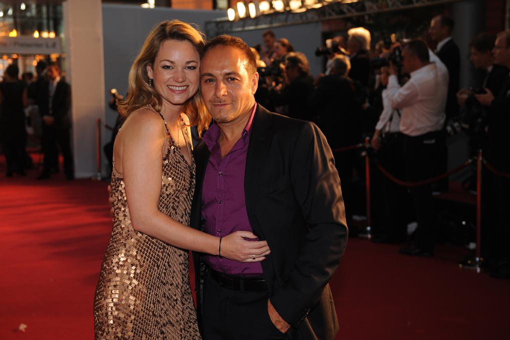 Schauspieler Erdogan Ataly und Katja Ohneck