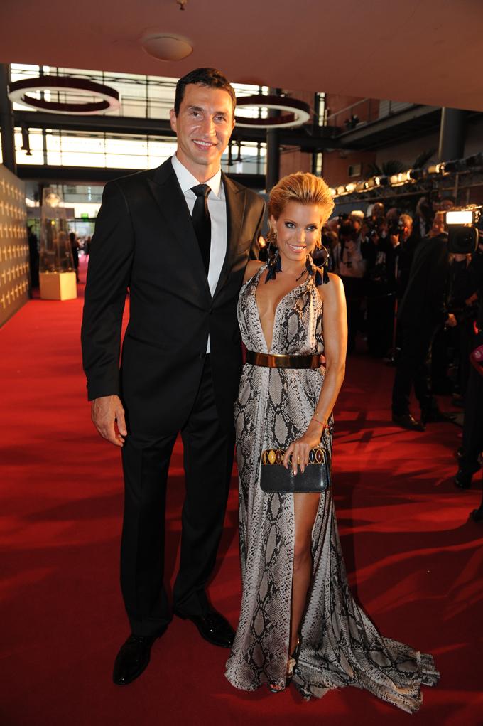 Vladimir Klitschko und Sylvie van der Vaart