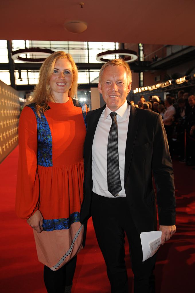 SAT.1-Moderator Johannes B. Kerner mit Ehefrau Britta