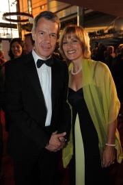 Peter Kloeppel und seine Frau Carol BB: Foto: RTL / Willi Weber