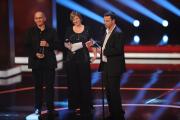 """Besondere Leistung Fiktion: Dominik Graf (li.), Christoph Hochh‰usler und Bettina Brokemper f¸r """"Dreileben"""" BB: Foto: RTL / Willi Weber"""