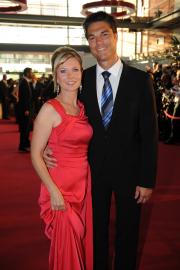 Ilka Essm¸ller und ihr Mann Boris B¸ttner BB: Foto: RTL / Willi Weber