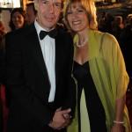 RTL News-Moderator Peter Kloeppel mit seiner Ehefrau Carol