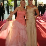 Jennifer Knäble und Isabel Edvardson