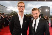 Joko und Klaas  auf dem roten Teppich beim Deutschen Fernsehpreis 2012