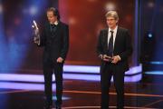 Hermann Joha erhält die Auszeichnung in der Kategorie Besondere Leistung Fiktion