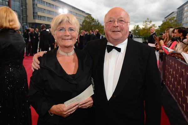 Norbert Blüm mit seiner Frau Marita
