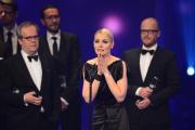 Beste Comedy: Martina Hill bedankt sich im Namen des Team von Knallerfrauen für die Auszeichnung