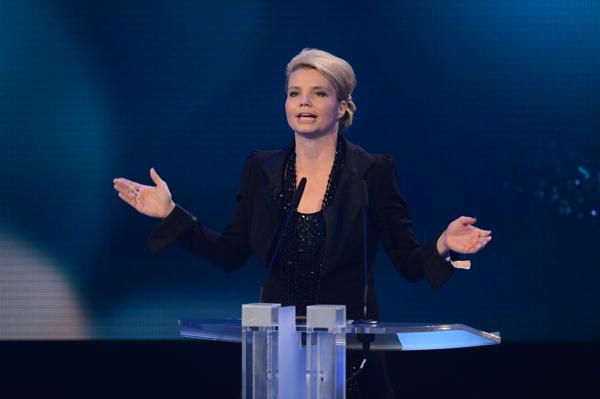Laudatorin und Jury-Mitglied Annette Frier