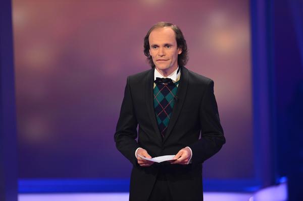 Comedian und Moderator des Abends Olaf Schubert