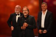 Götz George bedankt sich für die Auszeichnung in der Kategorie Besondere Leistung