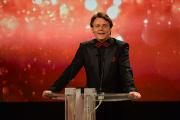 Wolfgang Bahro hielt die Laudatio für Hans Georg Ullrich und Detlef Gumm in der Kategorie Besondere Leistung