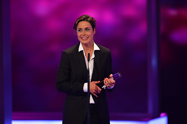Susanne Wolff wurde als Beste Schauspielerin geehrt