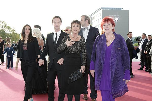 Team Weissensee mit Jörg Hartmann, Katrin Sass und Regina Ziegler