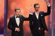 Klaas Heufer-Umlauf und Joko Winterscheidt bekommen den Publikumspreis