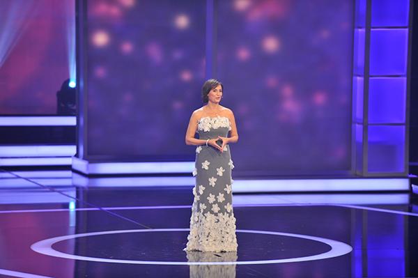 Gastgeberin des Abends: Sandra Maischberger