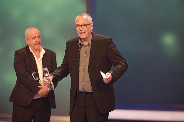 Bester Mehrteiler Dokumentation: Volker Heise bedankt sich