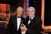 Tom Buhrow (li.) und Gerd Ruge