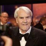 Ehrenpreisträger Gerd Ruge nach der Verleihung