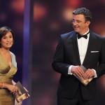 Sandra Maischberger und Hans Sigl führten durch die Gala