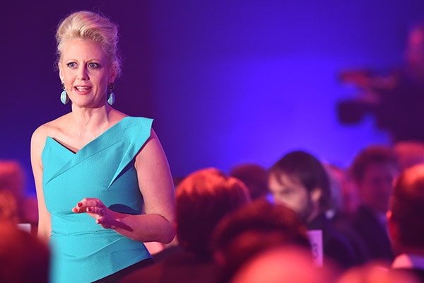 Moderatorin Barbara Schöneberger