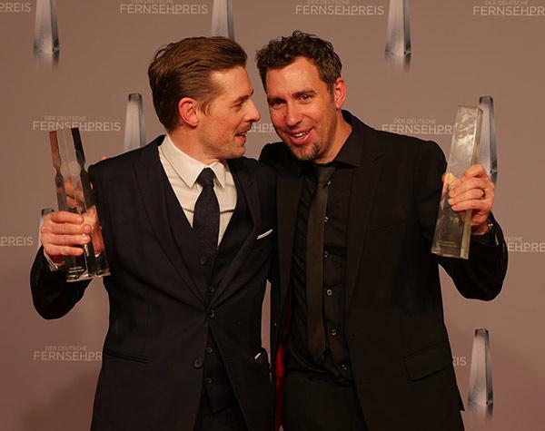 """Klaas Heufer-Umlauf und Arno Schneppenheim """"Beste Unterhaltung Primetime"""" für """"Joko gegen Klaas – Das Duell um die Welt"""""""