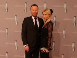 Jenke von Wilmsdorff mit seiner Frau