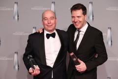 Jan Kromschröder (Produzent Club der roten Bänder, Bantry Bay Productions) und Bernd Reichard (Geschäftsführer VOX)