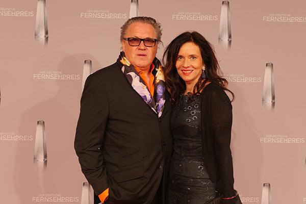 Michael Brandner mit seiner Frau
